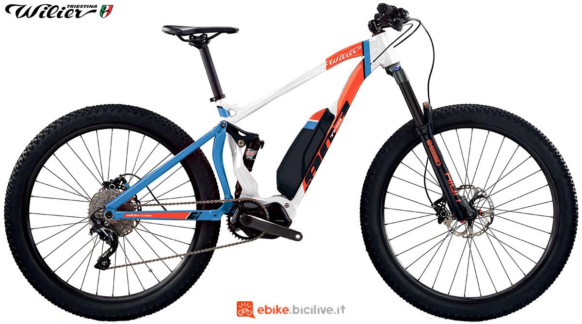 La bici emtb Wilier Triestina E803TRB COMP 2020