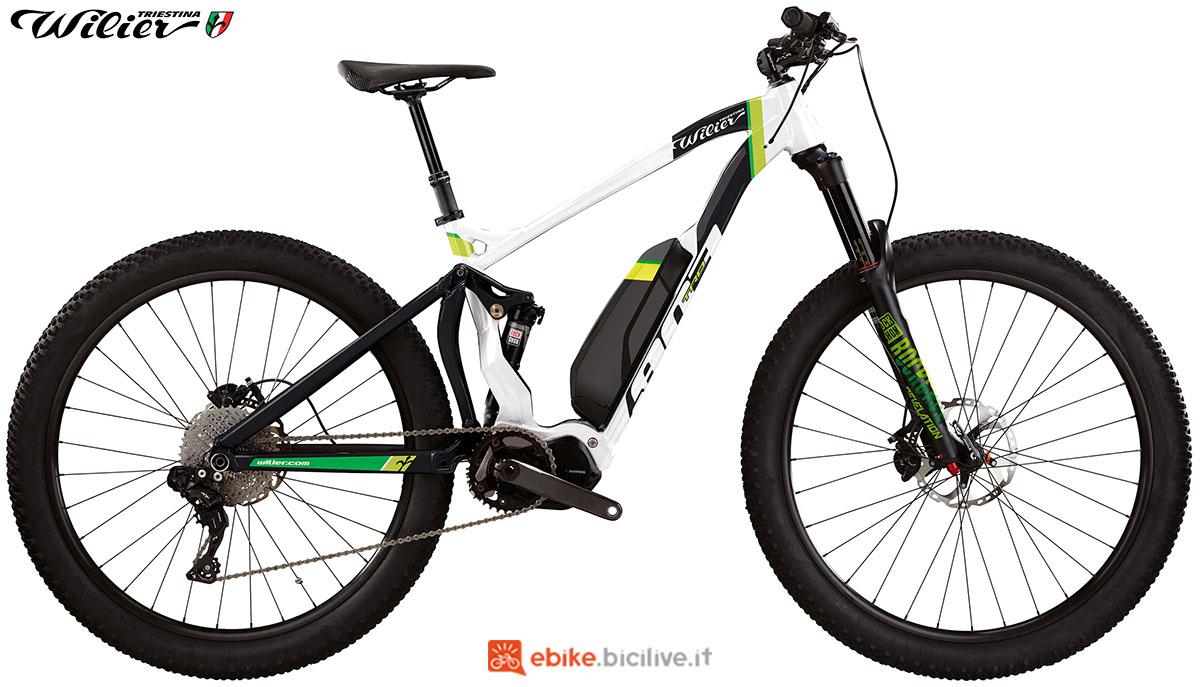 La bici emtb Wilier Triestina E803TRB PRO XT 2020
