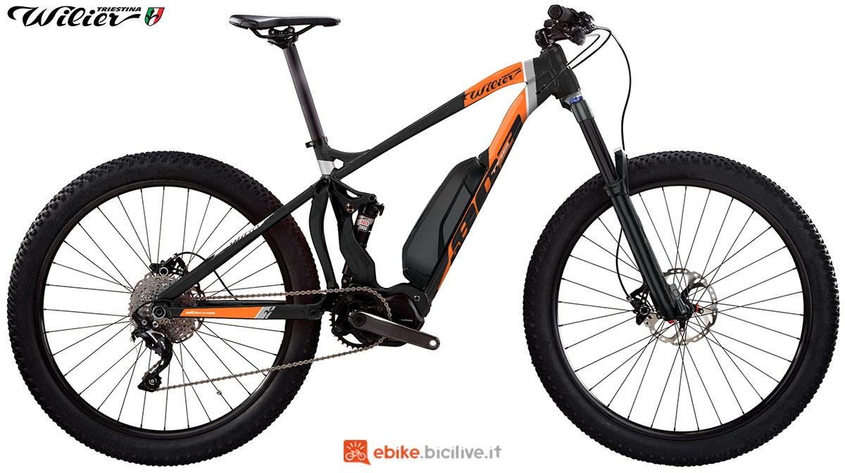 La bici emtb Wilier Triestina E803TRB SPORT 2020