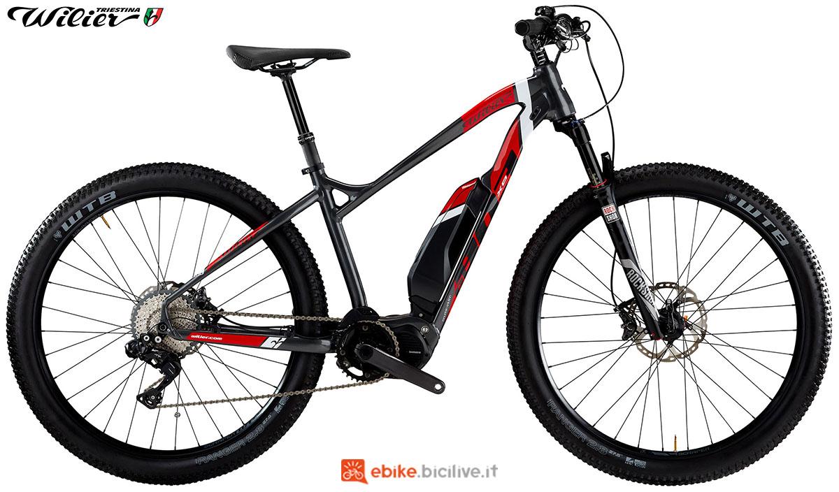 La bici emtb Wilier Triestina E803XN COMP 2020