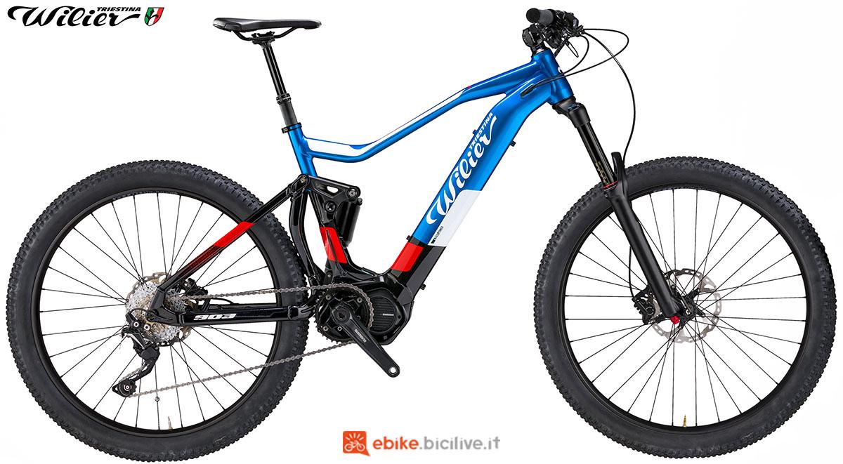 La bici emtb Wilier Triestina E903TRN PRO 2020
