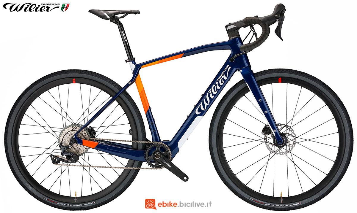 La bici Ebike Wilier Triestina Jena Hybrid 2020