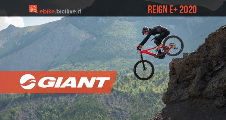 Giant Reign E+ 2020: le nuove mtb elettriche biammortizzate