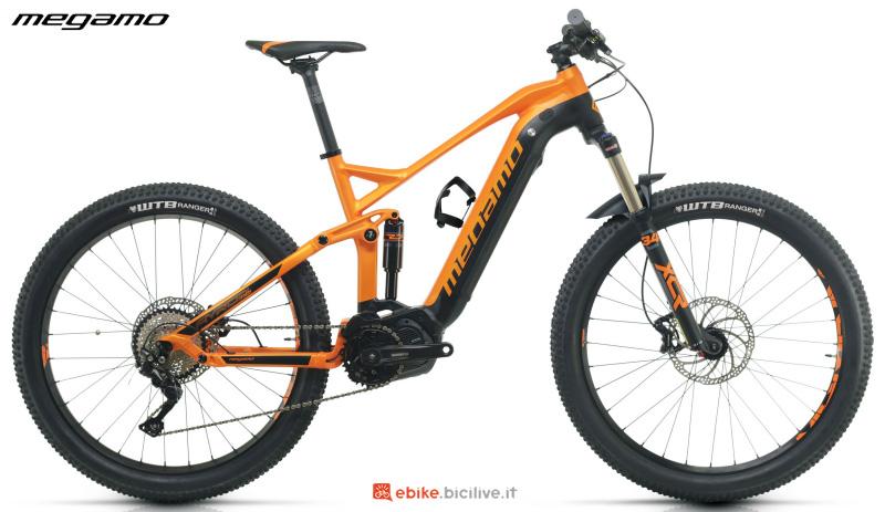 Una bicicletta elettrica Megamo Ayron Force 40