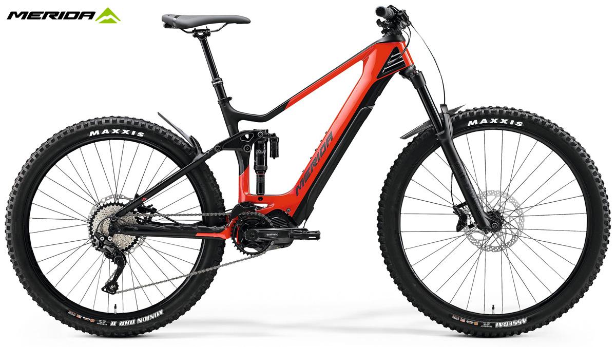Una e-bike da offroad Merida eONE-SIXTY 5000 gamma 2020