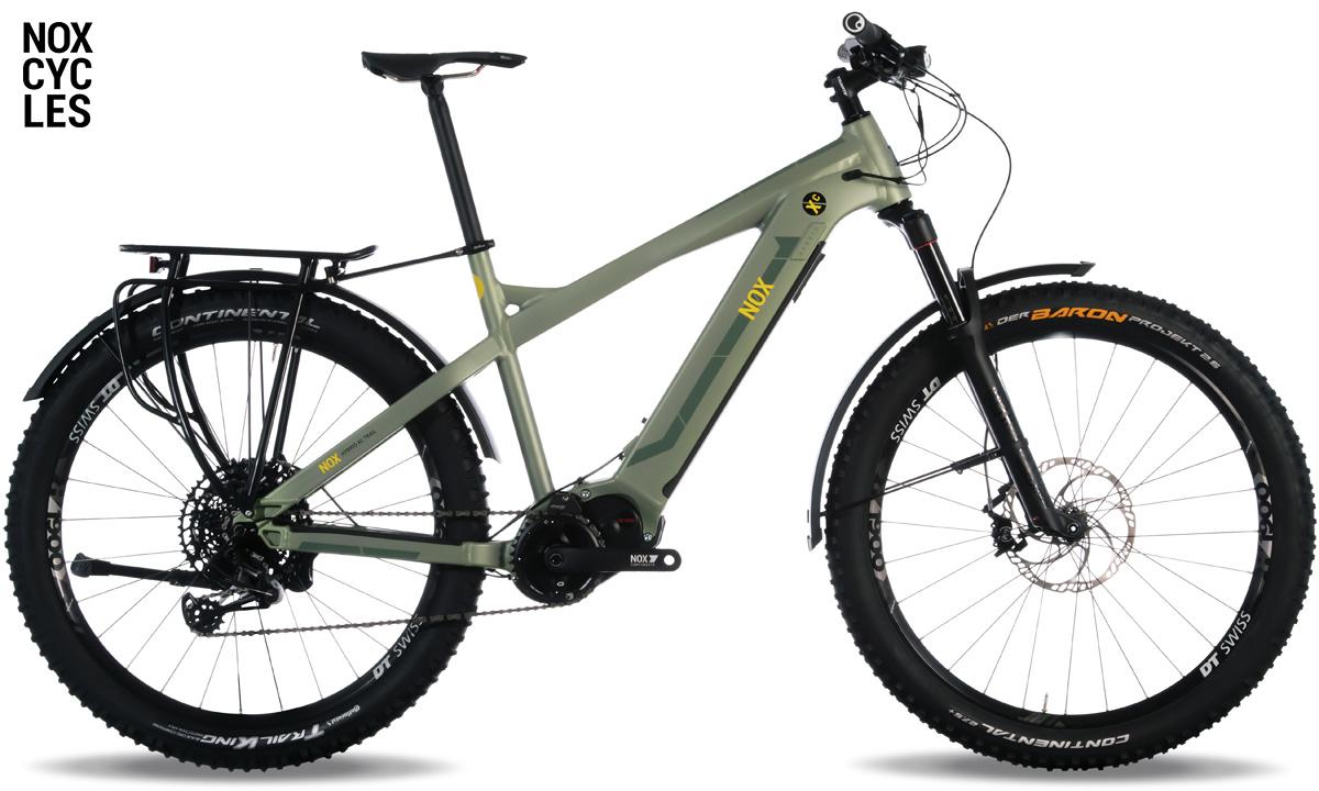 Una ebike da trekking Nox Hybrid XC Tour Expert gamma 2020