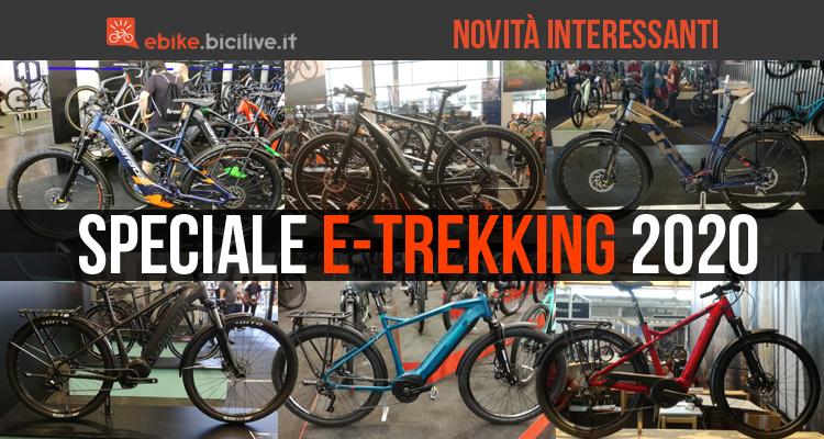 Speciale: le nuove e-bike da trekking 2020