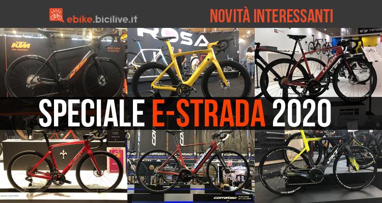 Speciale e-Road: le nuove bici da strada elettriche 2020