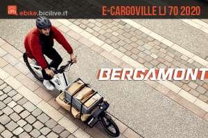 La nuova e-bike cargo Bergamont E-Cargoville LJ 70 2020