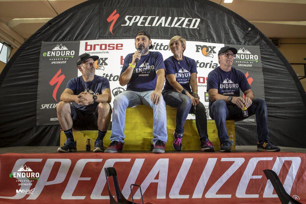 Lo staff del campionato E-Enduro 2019