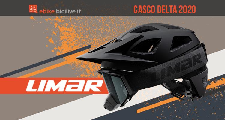 Casco Limar Delta 2020 e maschera Roc per l'all mountain