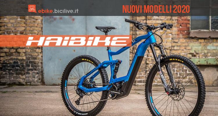 Tutti i nuovi modelli e-bike 2020 di Haibike