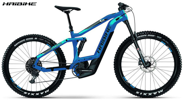 La bici ebike Haibike XDURO AllMtn 3.0 2020