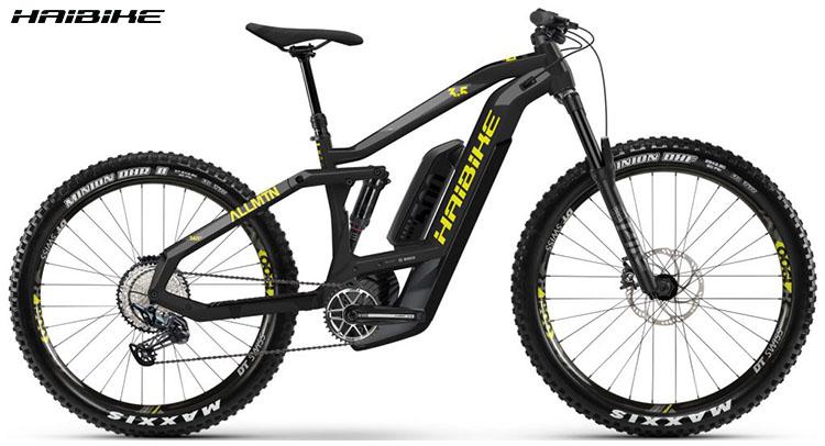 La bici ebike Haibike XDURO AllMtn 3.5 2020