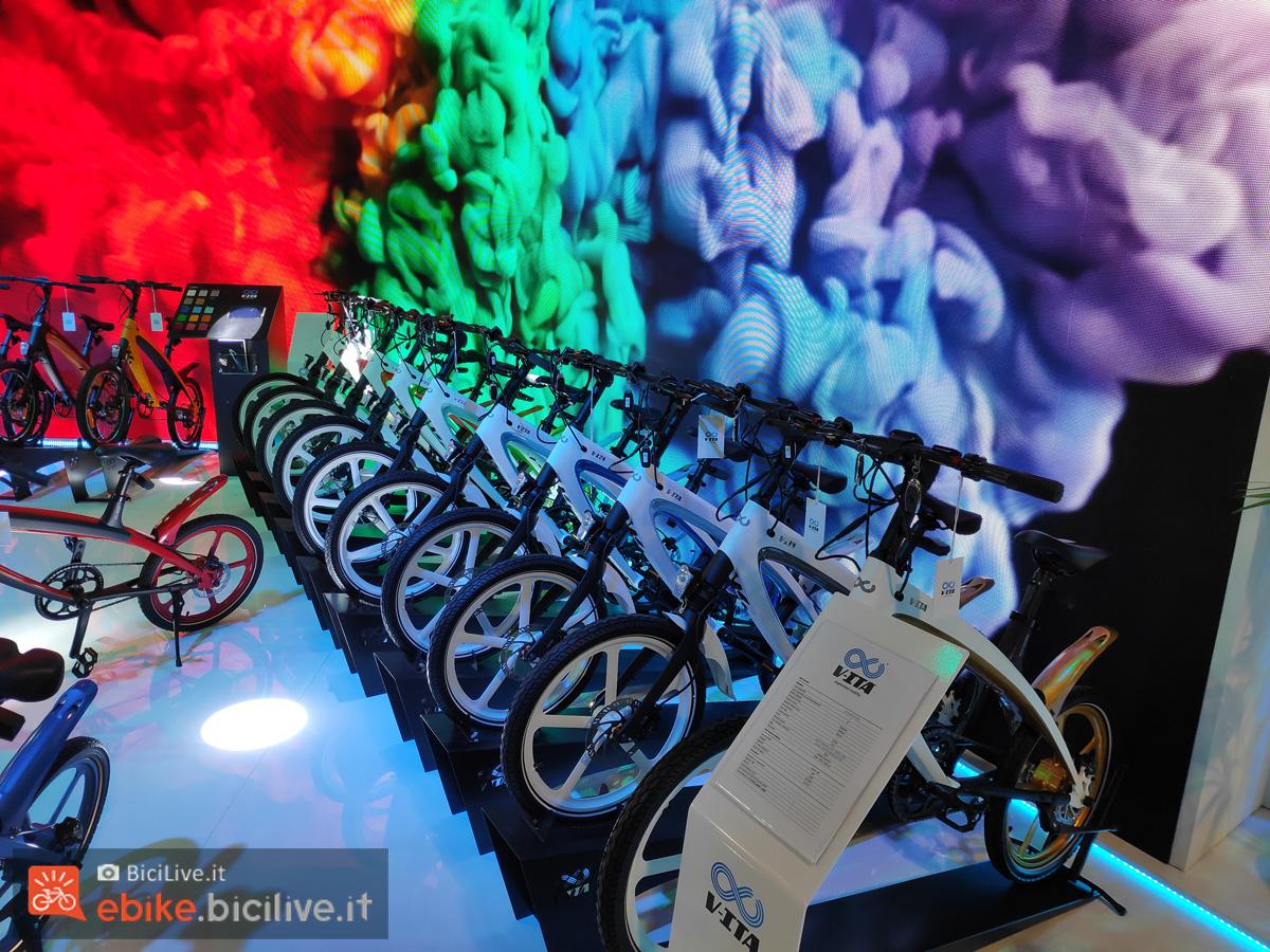 Bici elettriche V-ITA esposte a EICMA