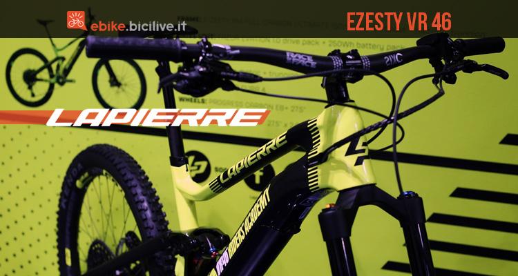 La e-MTB Lapierre eZesty VR46 RA Limited Edition