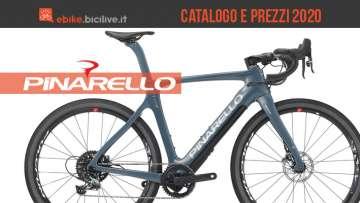 Le ebike 2020 di Pinarello: catalogo e listino prezzi