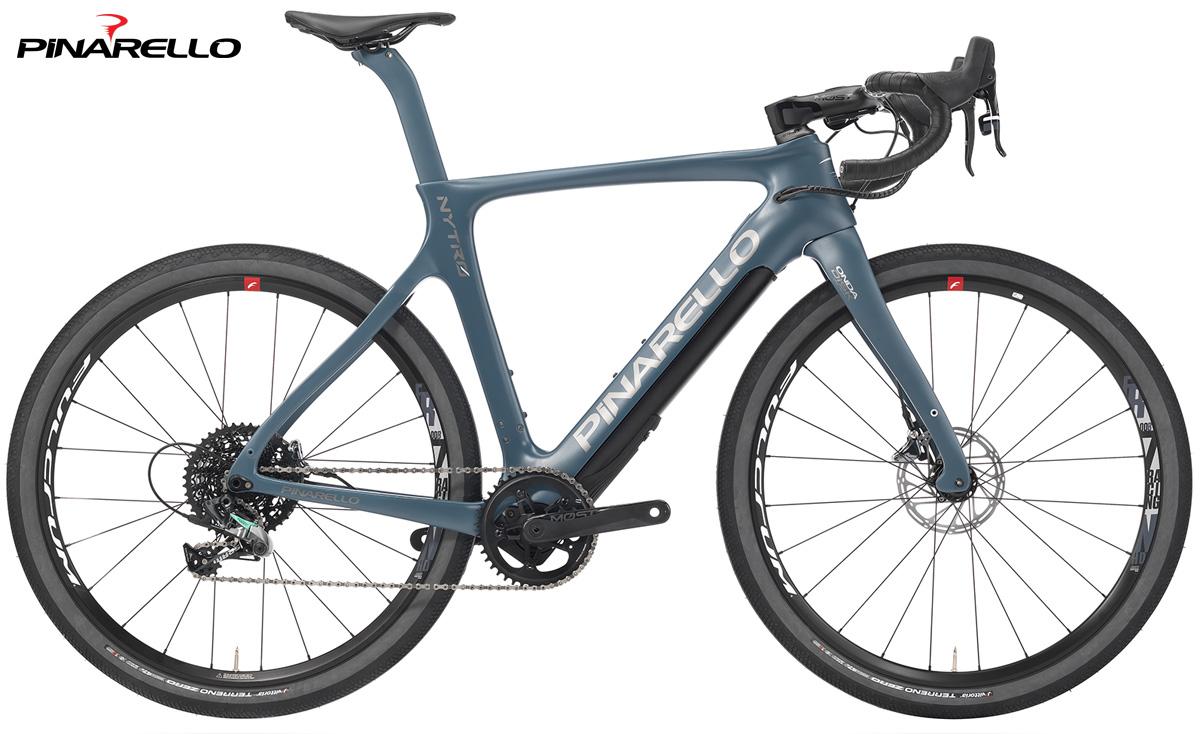 Una bici da e-Strada Pinarello Nytro Gravel 2020