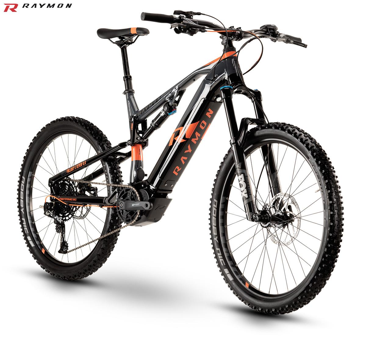 Una mountain bike elettrica FullRay E-Nine 8.0 dal catalogo 2020