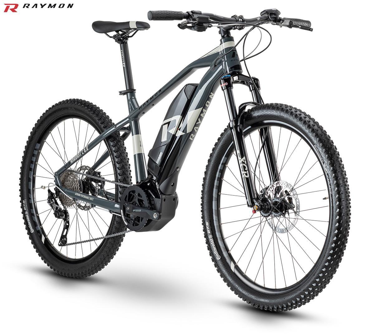 Una e-bike da offroad R raymon HardRay E-Nine 6.0
