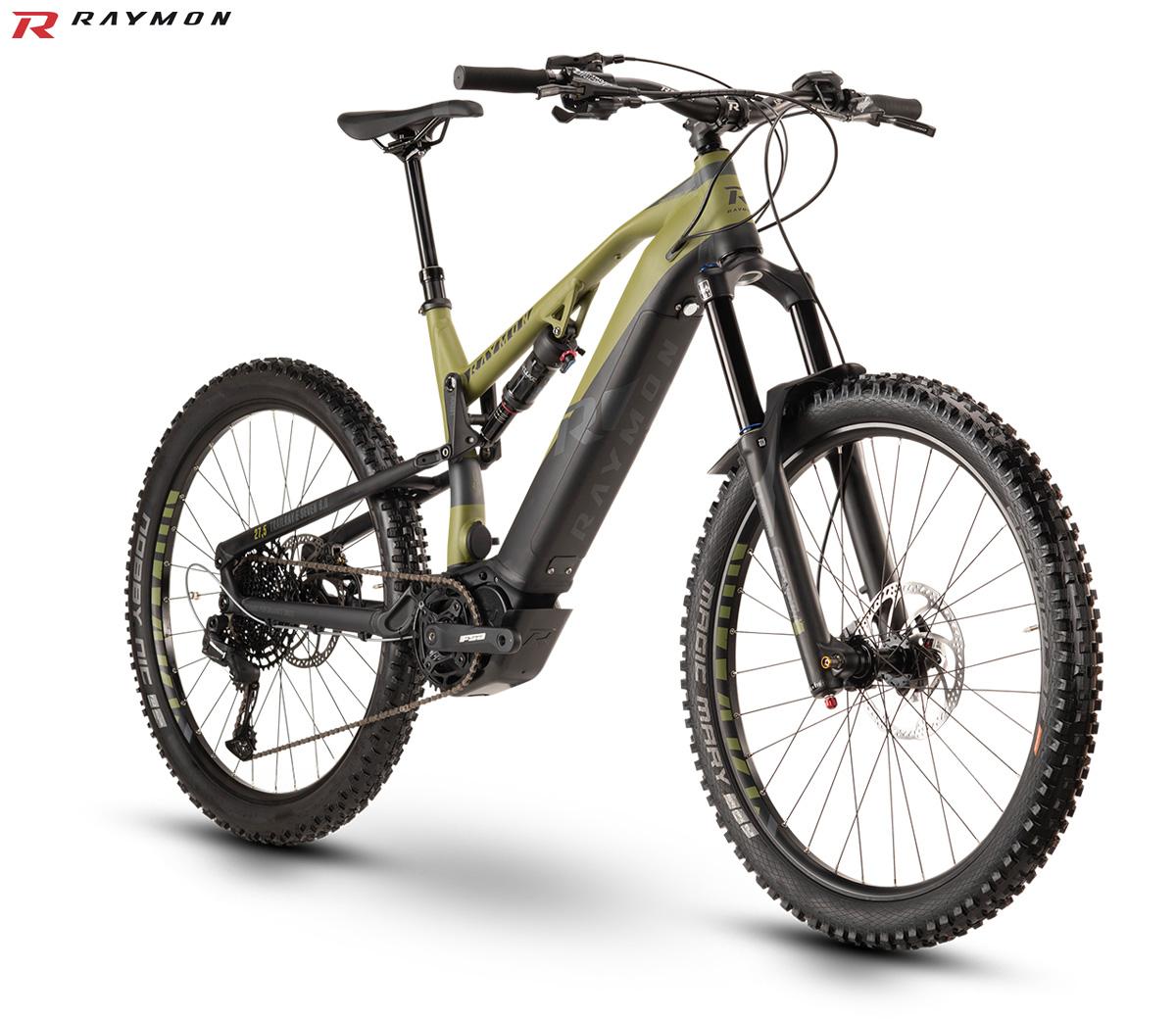 Una mountain bike a pedalata assistita full suspended TrailRay E-Seven 9.0 stagione 2020