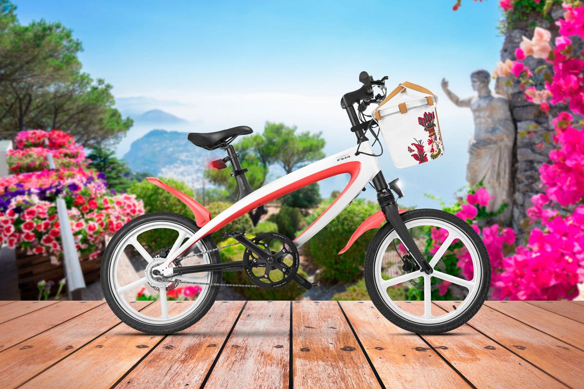 La bici elettrica V-ITA Capri Carthusia