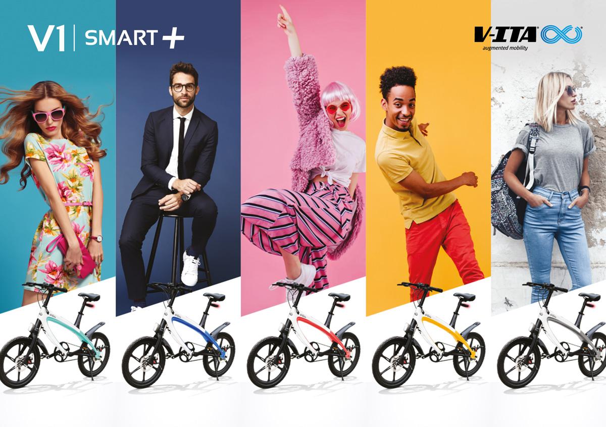 Una e-bike V-ITA Smart Plus