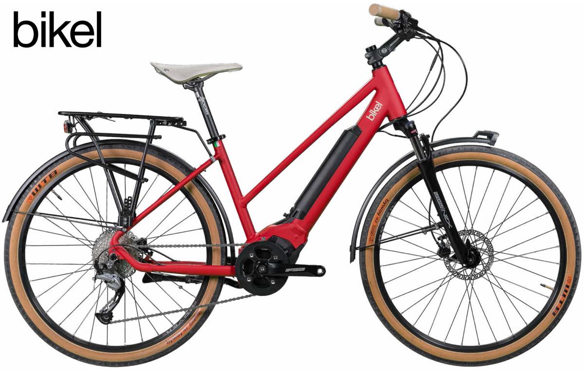 Una pedelec da passeggio Bikel Lady+ 2020 con motorizzazione Polini E-P3