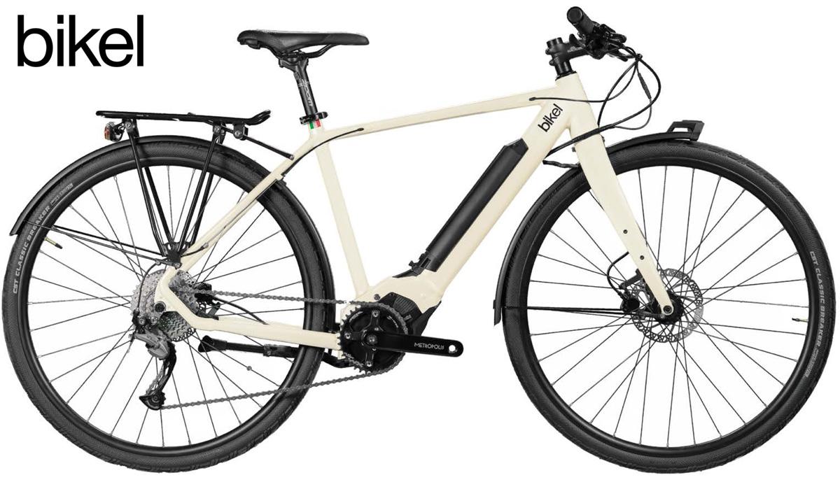 Una bici elettrica da città Bikel Urban 2020