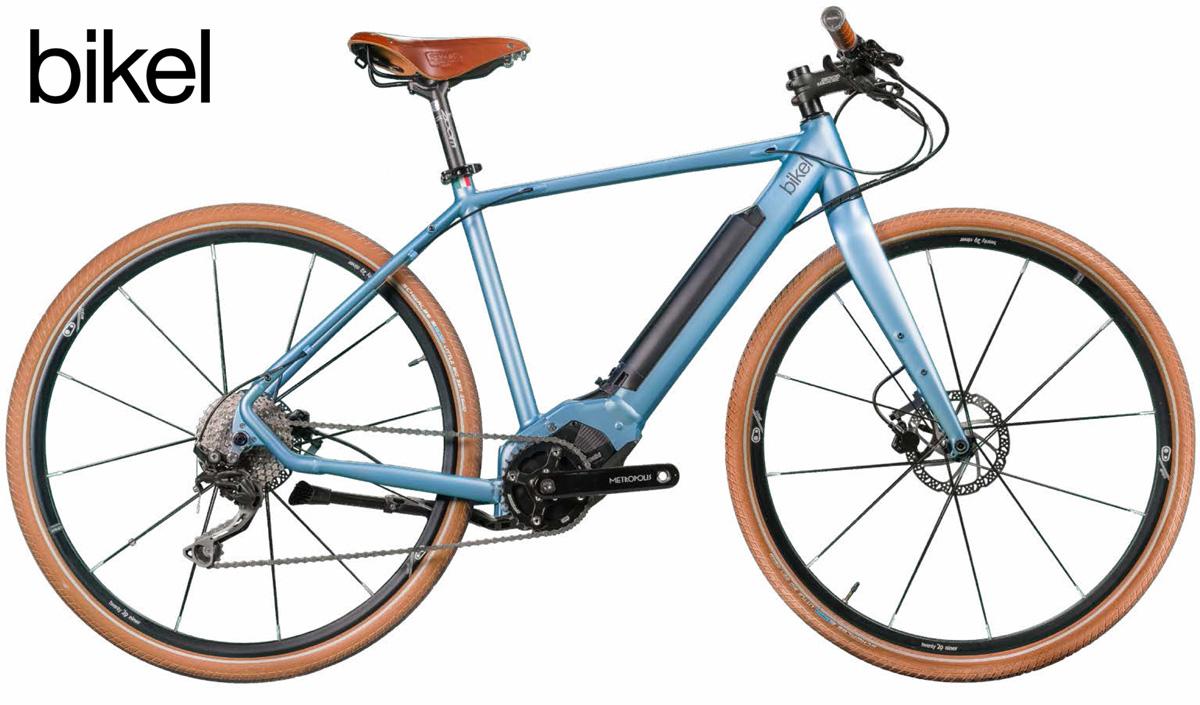 Una e-bike per uso urbano con telaio da uomo Bikel Urban+ 2020