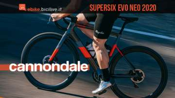 Cannondale SuperSix EVO Neo 2020: ebike da strada aero