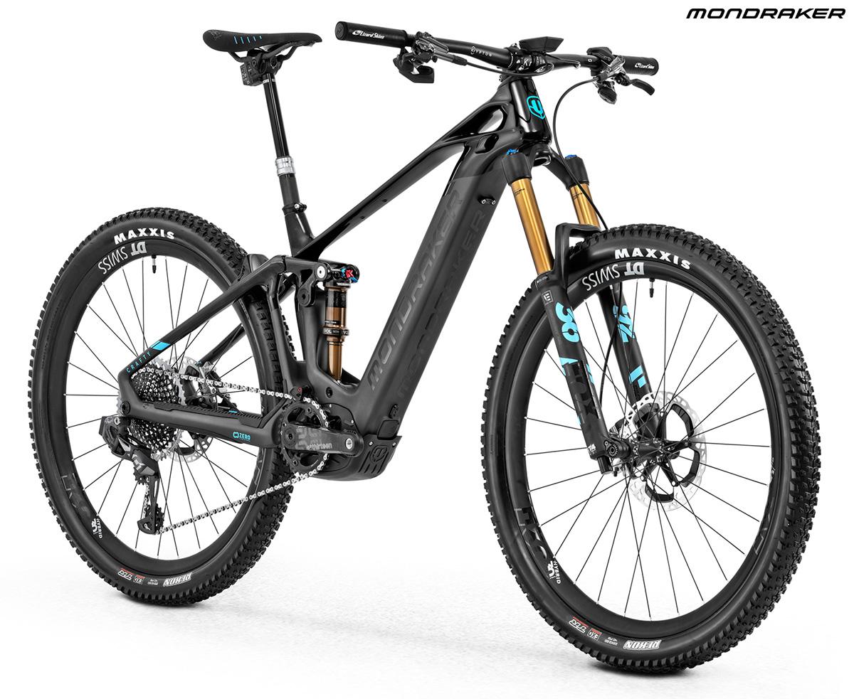 Una ebike Crafty Carbon RR SL dal catalogo 2020 Mondraker