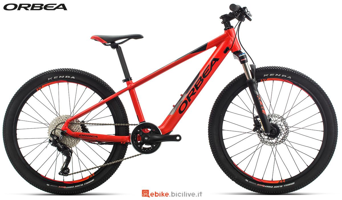 La bici elettrica per bambini Orbea eMX anno 2020