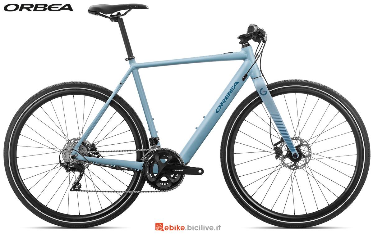 Una bicicletta elettrica urban Orbea Gain F20 dal catalogo 2020