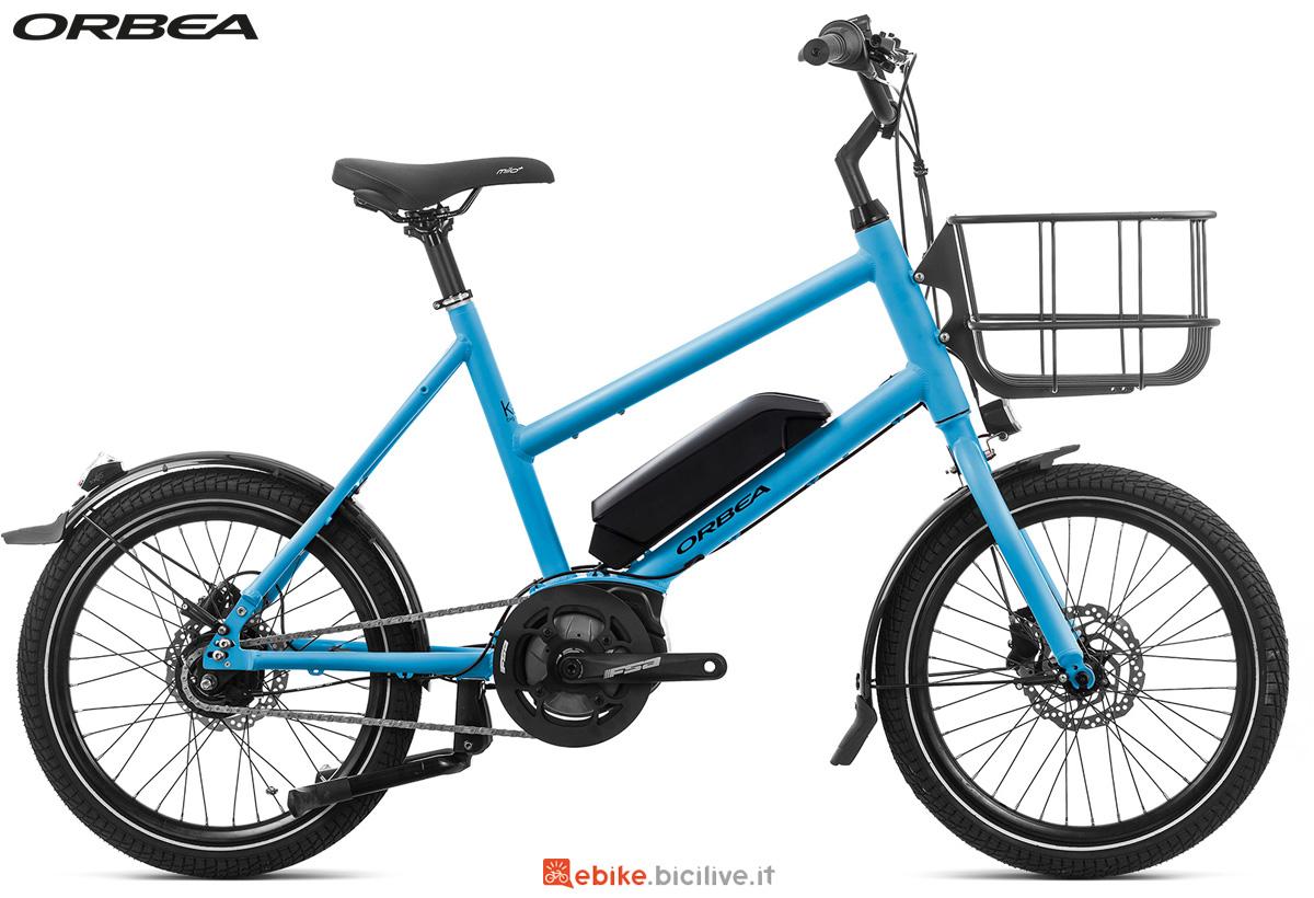 Una e-bike per uso urbano Orbea Katu-E 30