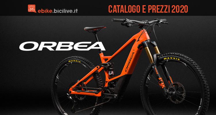 Le bici elettriche di Orbea per il 2020: catalogo e prezzi