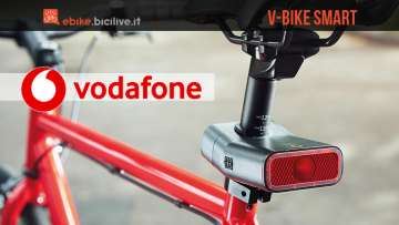 V-Bike Smart by Vodafone: dispositivo sicurezza bici elettriche