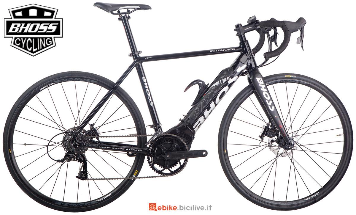 Una bicicletta eRoad Bhoss Dynamite