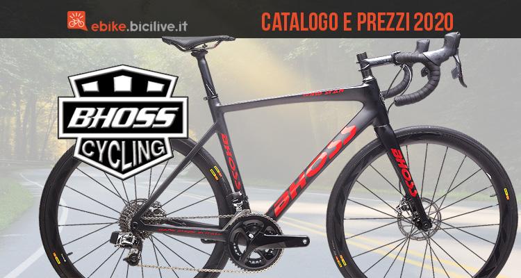 Bhoss e-bike 2020: catalogo e listino prezzi bici elettriche
