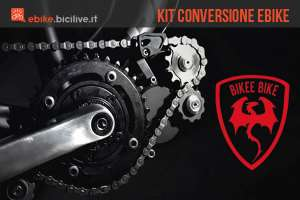 foto del kit di conversione lightest di bikee bike