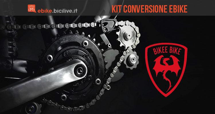 foto del kit di conversione lightest di bikee bike