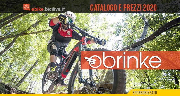 Le bici elettriche Brinke 2020: catalogo e listino prezzi