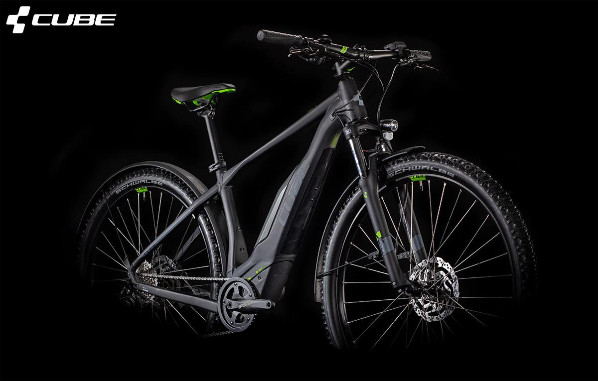Una ebike a pedalata assistita Cube Acid Hybrid One Allroad 500 29 2020