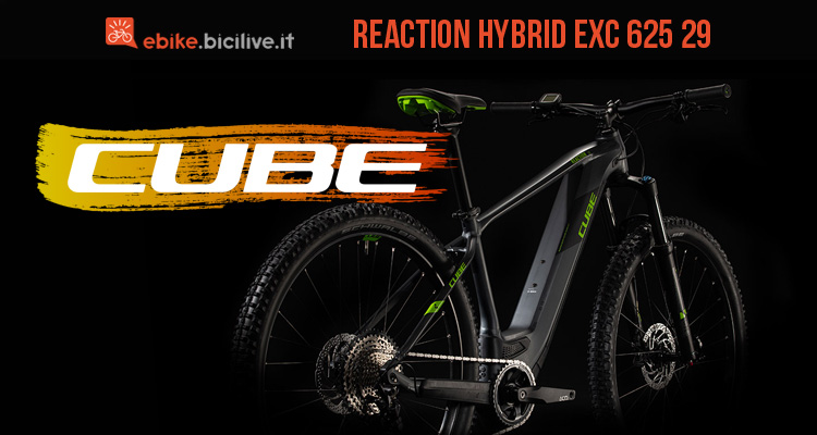 Cube Reaction Hybrid EXC 625 29 2020: e-MTB hardtail