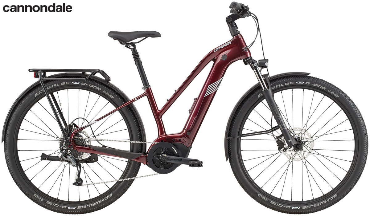 La bici ebike Cannondale Tesoro Neo X 3 Remixte 2020