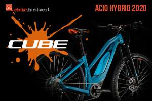 Acid Hybrid 2020: la gamma e-mtb hardtail di Cube