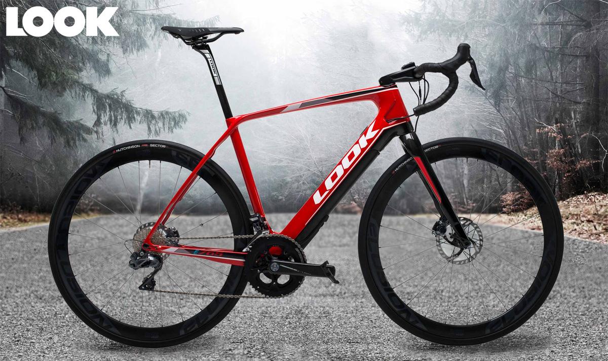 Una e-bike da strada  E-765 Optium Red Glossy con cambio Shimano Ultegra Di2 2020
