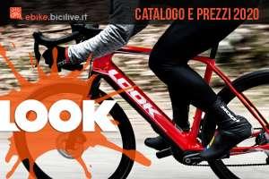 Look ebike strada gravel 2020: catalogo e listino prezzi e-Road