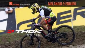 Thok E-bikes porta Marco Melandri al campionato e-Enduro 2020