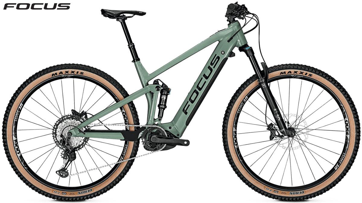 Una bici Focus Thron2 6.9 2020